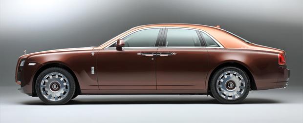 """Série especial da Rolls-Royce, destinada ao Oriente Médio, é batizada de """"1001 Noites"""""""