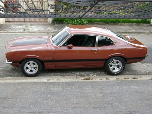 Ford Maverick Super Luxo 1976 preparado: sonho sobre rodas