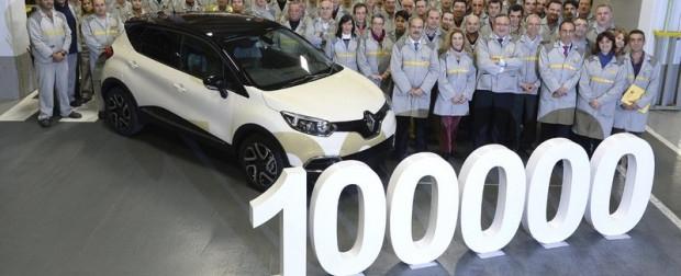 Captur: Renault comemora 100 mil unidades do modelo