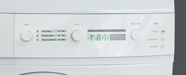 Já pensou em ter uma máquina de lavar conectada a seu smartphone?