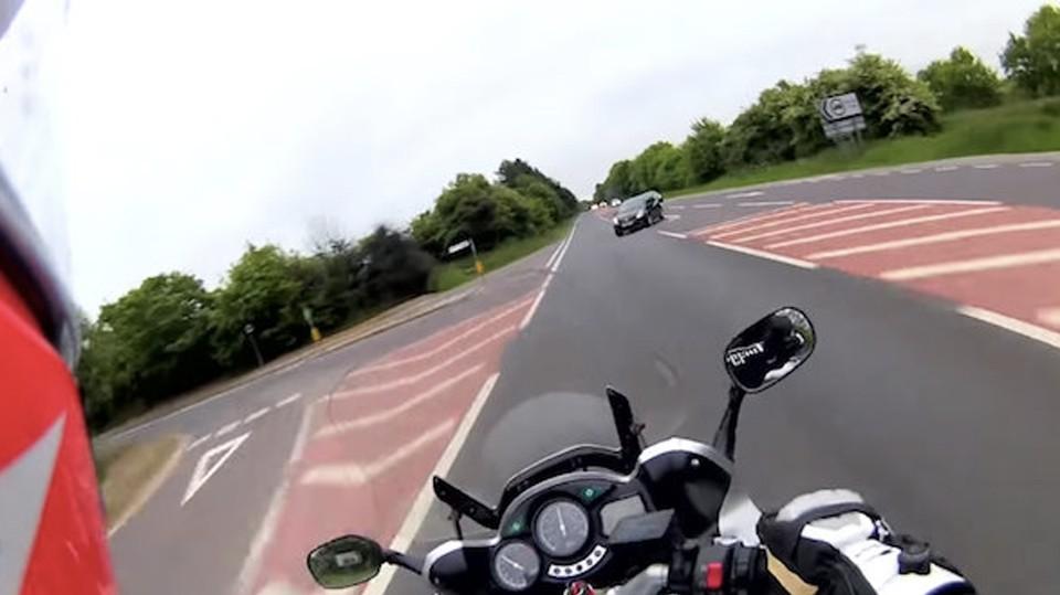 Imagens de acidente registrado com GoPro são utilizadas para campanha de conscientização