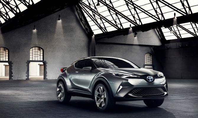Toyota entrará no mercado dos SUV compactos já em 2016