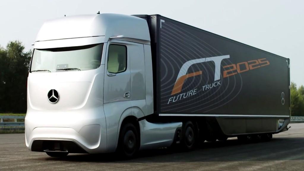 Como funciona o caminhão autônomo da Mercedes