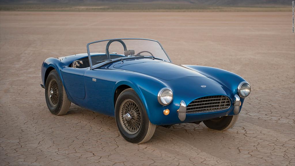 Um Shelby Cobra é o carro americano mais valioso do mundo