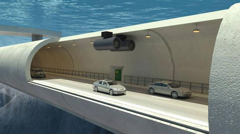 Na Noruega, carros viajarão por debaixo da água