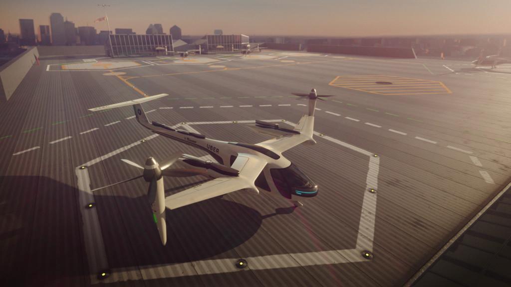 Se depender da Uber, carros voadores estarão disponíveis em até 10 anos