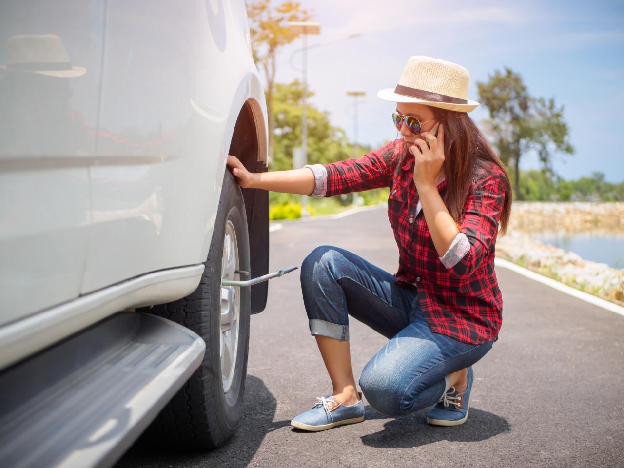 Você sabe trocar os pneus do carro sozinho?